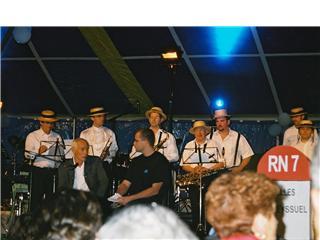 Gilbert Roche au centenaire de l`harmonie